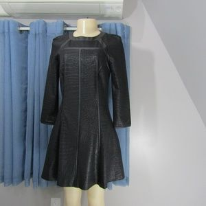 W118 by WALTER BAKER FAUX LEATHER DRESS